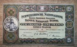 Suisse - 5 Francs 1952 * 010110 * UNC - Svizzera