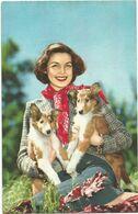 XW 3627 Ragazza Girl Femme Frau Chica - Cane - Dog - Chien - Hund - Perro / Non Viaggiata - Pin-Ups