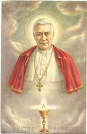 XW 3628/29 Papa Pope Pio Pius X - Illustrazione Illustration / Non Viaggiata - Päpste