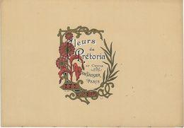 ETIQUETTE DE PARFUM FLEURS DE PRETORIA AU CHYPRE PARFUMEUR VICTOR VAISSIER PARIS PUBLICITE - Etiquettes
