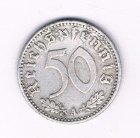 50 PFENNIG  1943 A    DUITSLAND /6136/ - 50 Reichspfennig