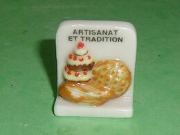 Fèves / Autres / Divers / Alimentation : Artisanat Et Tradition , Gateau  TB4C - Santons/Fèves