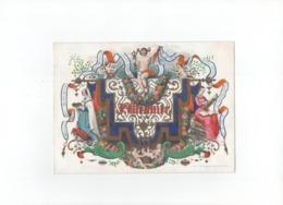 1 Carte Porcelaine  J. Meunier  LOUVAIN   Articles De Piété Cartes à Jouer Fournitures De Bureaux  Litho.G. Jacquesmain - Porzellan