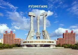 North Korea Pyongyang Korean Workers Party Monument New Postcard Nordkorea AK - Corea Del Nord