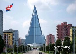 North Korea Pyongyang Ryugyong Hotel New Postcard Nordkorea AK - Corea Del Nord