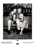 "Grande Photo Originale De Promotion Tim Robbins & Meg Ryan Star In "" IQ "" 1994 - L'Amour En équation - Paramount - Berühmtheiten"