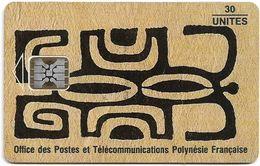 French Polynesia - OPT - Honu Kakaa - SC5, Cn. C3C043448, 01.1994, 30Units, 20.000ex, Used - Polynésie Française