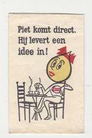 Suikerzakje - Sachet De Sucre ESSO Piet Komt Direct. Hij Levert Een Idee In! - Zucchero (bustine)