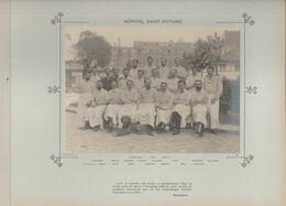 Hôpital SAINT ANTOINE Médecins Et Personnels Nommés Photo Argentique Format 18 X 13 Cm Sur Carton 29 X 23 - 1905 - Fotos