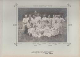 Hospice De La SALPETRIERE Médecins Et Personnels Nommés Photo Argentique Format 18 X 13 Cm Sur Carton 29 X 23 - 1905 - Fotos
