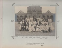 Hôpital TENON Médecins Et Personnels Nommés Photo Argentique Format 18 X 13 Cm Sur Carton 29 X 23 - 1905 - Fotos