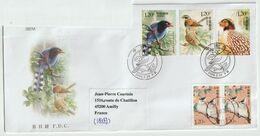 Chine. China  2008. FDC Pour La France. .Oiseaux. Birds. Cachet Illustré - 1949 - ... Repubblica Popolare