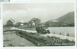 S. Gottardo (Gotthardhospiz) E Un Vecchio Autobus - Non Viaggiata. (Borelli - Airolo) - TI Ticino