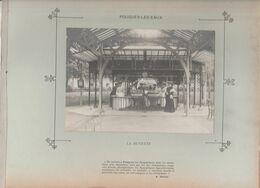 Nièvre POUGUES LES EAUX - La Buvette - Photo Argentique Format 18 X 13 Cm Sur Carton 29 X 23 - 1905 - Fotos