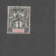 NEW CALEDONIA 1902......Yvert8 67mh* - New Caledonia