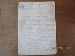 17 SEPTEMBRE 1860 VENTE PAR JOSEPH FREDERIC GUILLOUART CULTIVATEUR A LAMBERCY AU SIEUR ET DAME GUILLOUART-DEBOUT JARDIN - Manoscritti