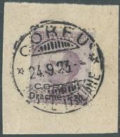 1923 CORFU USATO EFFIGIE 50 CENT - RA28-8 - Corfu