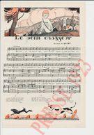 2 Vues Presse 1923 Le Petit Chasseur Musique De Quint Enfant écolier Chien Lapin Le Repas Frugal (Emile) Friant 231CH11 - Vecchi Documenti