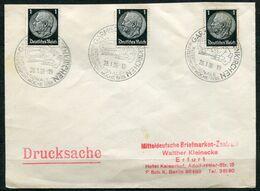 """German Empires 1938 Drucksachen Stempelbeleg/Cover Rodeln Mit Mi.Nr.512 Und SST""""Garmisch-Partenkirchen """"1 Beleg - Winter (Other)"""