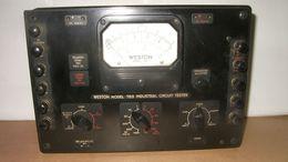 Weston Model 785 Industrial Circuit Tester - Radio & TSF