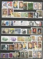 53 Stamps DIFFERENT - MNH - Europa-CEPT - Famous Ladies - Art - 1996 - Europa-CEPT