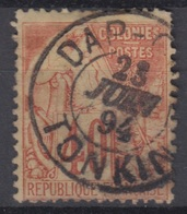 COLONIES GENERALES : ALPHEE DUBOIS 40c N° 57 RARE CACHET DE DAP-CAU TONKIN DU 23 JUIN 94 - Alphée Dubois