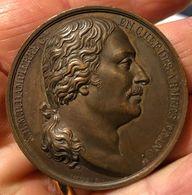 Valmy Jemmapes Liege Bois De Vicoigne Nè A Paris 1756 Medaille D.472 - Royaux / De Noblesse