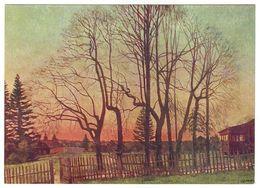 THE BEGINNING OF SPRING, 1935 By KONSTANTIN YUON, Russian Painter. Unused Postcard - USSR, 1961 - Malerei & Gemälde