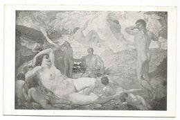 XW 3647 Adolfo De Carolis - Aurora - Piacenza Galleria Ricci Oddi - Dipinto Paint Peinture - Malerei & Gemälde