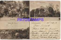 139659 GERMANY ASCHERSLEBEN MULTI VIEW YEAR 1919 BREAK CIRCULATED TO NEW ZEALAND POSTAL POSTCARD - Non Classés