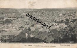 CPA ORAN- ALGÉRIE  - Vue Générale Prise Du Belvédère - écrite - Oran