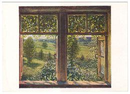 OPEN WINDOW, 1947 By KONSTANTIN YUON, Russian Painter. Unused Postcard - USSR, 1964 - Malerei & Gemälde