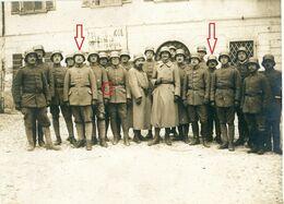 Gebirgskämpfer-Flammenwerfer Trupp-Totenkopf Mezzocorona Trient Italien -Soldaten Allemande Photo-guerre 14 -18 - 1914-18