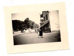 Photo Le Croisic Café Rielle 1953 - Places