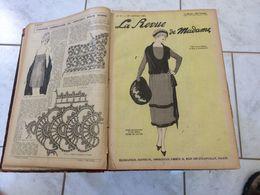 Magazine La Revue De Madame Complète 1921 (51 Revues De Janvier à Décembre 1921) (Voir Les Photos) - Fashion