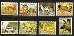 Rwanda 1981 OCBn°  919-926  *** MNH Cote 15 Euro Fauna Roofdieren Carnassiers - Rwanda