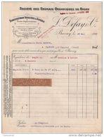 59 BAVAY  FACTURE 1931 Sté Des Engrais Organiques Ferme Expérimentale  L. DEFAY & Cie   - T32 - France