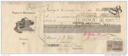 54 NANCY TRAITE 1911 Moteurs électriques Fabius HENRION  - F3 - France