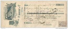 16 COGNAC TRAITE 1913 Distillerie Eau De Vie P. LAUGERAT & C°  - F3 - France