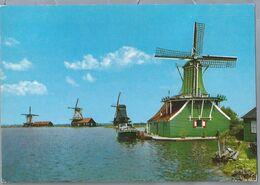 NL.- ZAANSTAD. DE ZAANSE SCHANS. MOLENLAND. LAND OF WIND-MILLS. MÜHLENLAND. - Wassermühlen