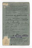 FASCICULE MOBILISATION BAILLY JEAN HENRI NE 1903 ST GERMAIN EN LAYE 22 BOA VINCENNES CL 1923 LEGION GENDARMERIE 1939 - Documents