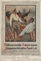 HELSTUNS DEUTSCHE SCHULEN BAUEN, BURGEN IM HEDRAHTEN LAND!. ALEMANIA GERMANY DEUTSCHLAND - Non Classés