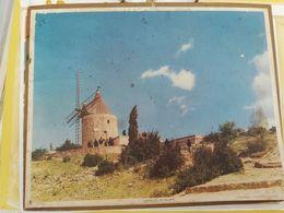 CALENDRIER FRANCE 1968 MOULIN DE DAUDET SEINE MARITIME 76 COMPLET - Calendari