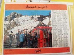 CALENDRIER FRANCE 1969 VERS LE BREVENT COMPLET SEINE MARITIME - Calendari