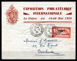 FRANCE - YT N° 257A Sur Lettre De L'exposition - Cartas