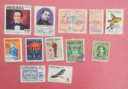 COSTA RICA LOT OF NEWS MNH** AND USED STAMPS - Costa Rica
