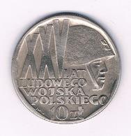 10 ZLOTY 1968  POLEN /6151/ - Polen