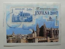 ESPAÑA 2007 - EDIFIL Nº 4321 HOJITA BLOQUE  - USADO - 1931-Heute: 2. Rep. - ... Juan Carlos I