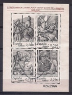 ESPAÑA 2005 - EDIFIL Nº 4161 - HOJITA BLOQUE - USADO - 1931-Heute: 2. Rep. - ... Juan Carlos I