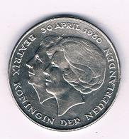 2 1/2 GULDEN 1980 NEDERLAND /6152/ - [ 3] 1815-… : Regno Dei Paesi Bassi